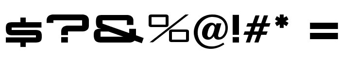 OPTIAggie-Solid Font OTHER CHARS