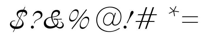 OPTIAjax Font OTHER CHARS