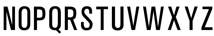 OPTIAkroGrotesk-Cond Font UPPERCASE