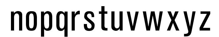 OPTIAkroGrotesk-Cond Font LOWERCASE