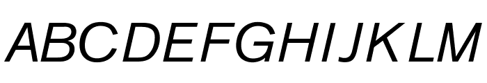 OPTIAkrogrotesk-Italic Font UPPERCASE