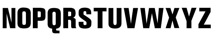 OPTIAkrogroteskBlack-Cond Font UPPERCASE