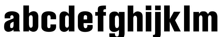 OPTIAkrogroteskBlack-Cond Font LOWERCASE