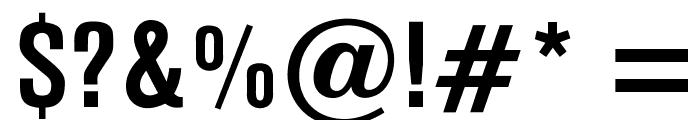 OPTIAkrogroteskBold-Cond Font OTHER CHARS
