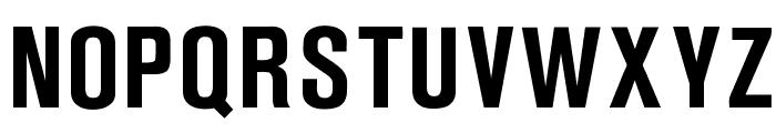 OPTIAkrogroteskBold-Cond Font UPPERCASE