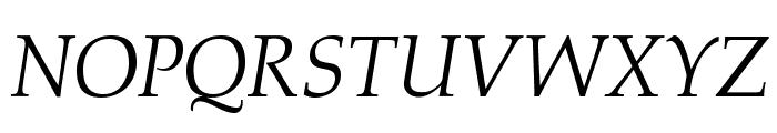 OPTIAlkas-Italic Font UPPERCASE