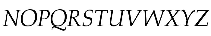 OPTIAlkasA-Italic Font UPPERCASE