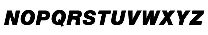 OPTIAlpine-BoldItalic Font UPPERCASE