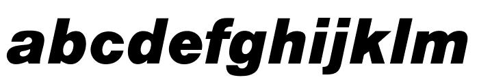 OPTIAlpine-BoldItalic Font LOWERCASE