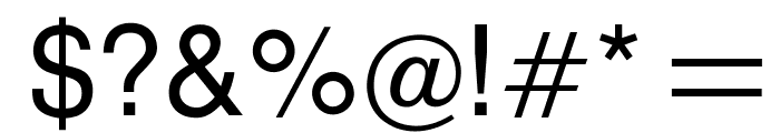 OPTIAlpine-Primer Font OTHER CHARS