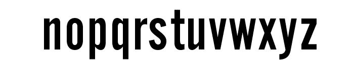 OPTIAlternateGothic-TwoAg Font LOWERCASE