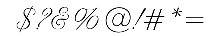 OPTIAltoGreeting-Script Font OTHER CHARS