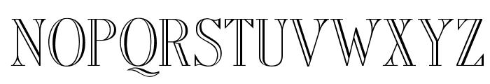 OPTIAmadeus-Open Font UPPERCASE