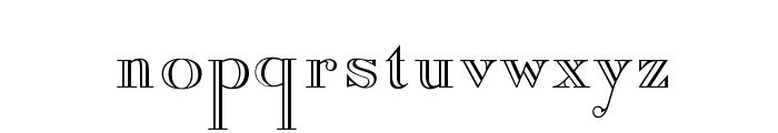 OPTIAmadeus-Open Font LOWERCASE