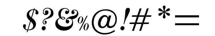 OPTIAmericanCaslon-ItSwash Font OTHER CHARS
