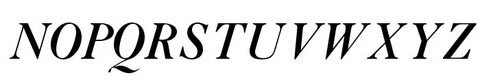 OPTIAmericanCaslon-ItSwash Font UPPERCASE