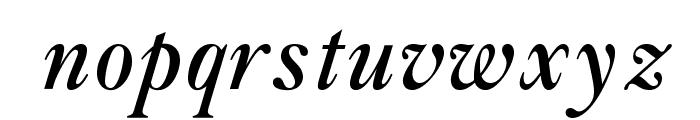 OPTIAmericanCaslon-ItSwash Font LOWERCASE