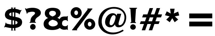 OPTIAmericanGothic-Bold Font OTHER CHARS