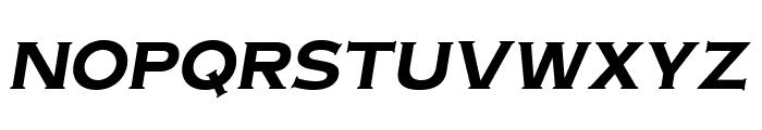 OPTIAmericanGothic-BoldItalic Font UPPERCASE