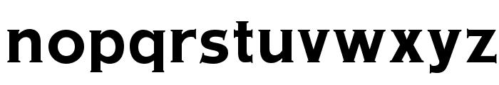 OPTIAmericanGothic-Bold Font LOWERCASE