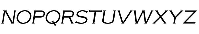 OPTIAmericanGothic-LightItalic Font UPPERCASE