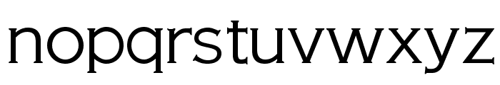 OPTIAmericanGothic-Light Font LOWERCASE