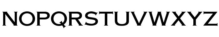 OPTIAmericanGothic-Medium Font UPPERCASE