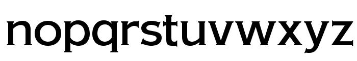 OPTIAmericanGothic-Medium Font LOWERCASE