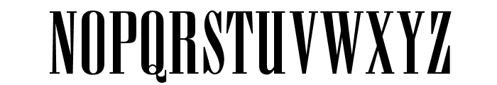 OPTIAmvet Font UPPERCASE
