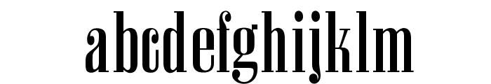 OPTIAmvet Font LOWERCASE