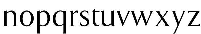 OPTIAmway Font LOWERCASE