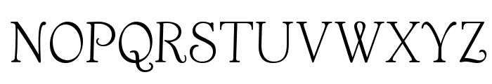 OPTIAnnouncement-Roman Font UPPERCASE