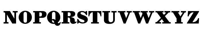 OPTIAntique-Bold Font UPPERCASE