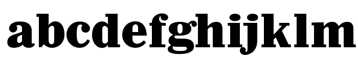 OPTIAntique-Bold Font LOWERCASE
