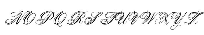 OPTIAries Font UPPERCASE