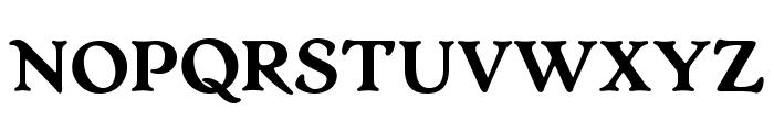 OPTIArtCraft-Bold Font UPPERCASE