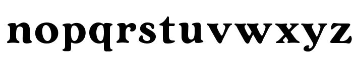 OPTIArtCraft-Bold Font LOWERCASE