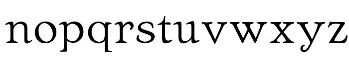 OPTIArtcraft-LightC Font LOWERCASE