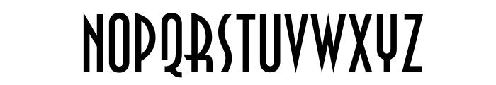 OPTIAsian Font UPPERCASE