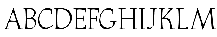 OPTIAthenaeum-Regular Font UPPERCASE