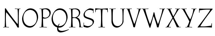 OPTIAthenaeum-Regular Font UPPERCASE
