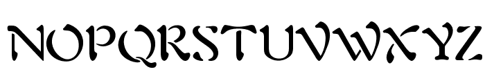 OPTIAura Font UPPERCASE