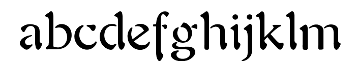 OPTIAura Font LOWERCASE