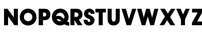 OPTIAuvantGothic-Bold Font UPPERCASE