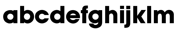 OPTIAuvantGothic-Bold Font LOWERCASE