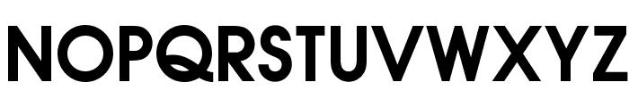 OPTIAuvantGothic-DemiBold Font UPPERCASE