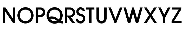 OPTIAuvantGothic-Medium Font UPPERCASE
