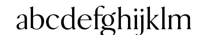 OPTIBakerDanmarkOne Font LOWERCASE