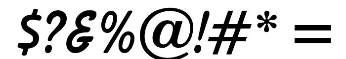 OPTIBalloon-Bold Font OTHER CHARS