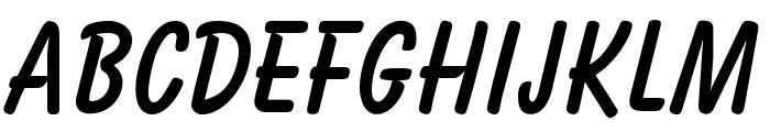 OPTIBalloon-Bold Font LOWERCASE
